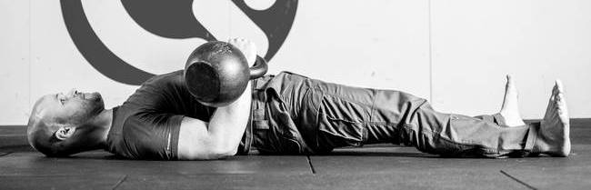 floor press supine position