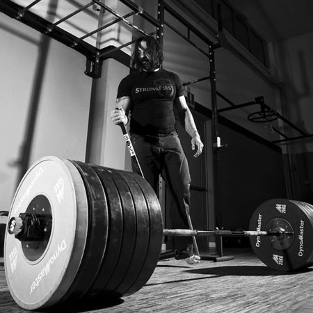 Loading the barbell