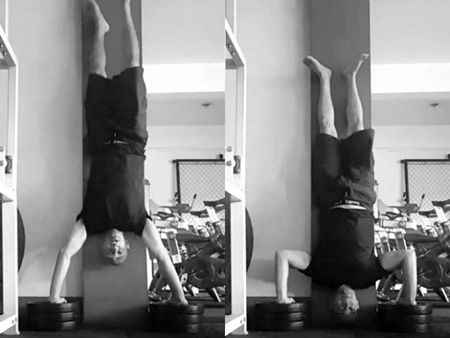 Increase the ROM in your handstand pushup