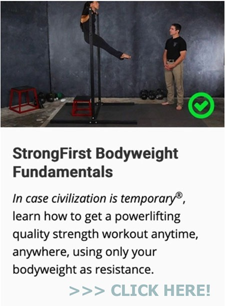 StrongFirst Bodyweight Fundamentals Course