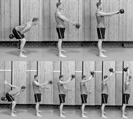 Swing versus snatch