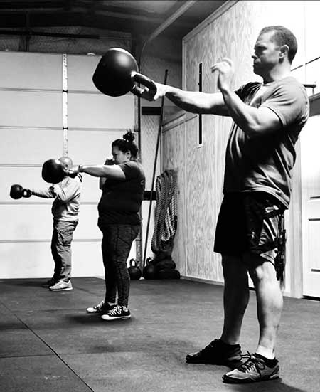 The one-arm kettlebell swing