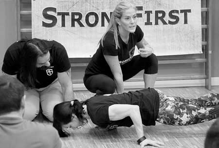 Karen Smith about body tension in bodyweight excercises