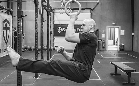 SFB bodyweight rings one arm