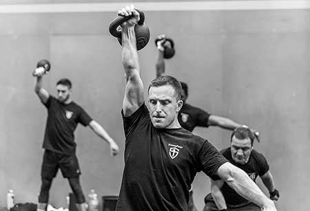 The StrongFirst snatch test